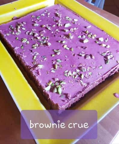 brownie cru entier