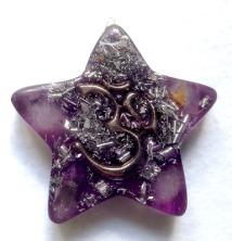 Orgonite-Générateur-dénergie-Vitale-Médaille-étoile-OM